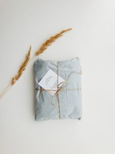 A package wrapped in twine