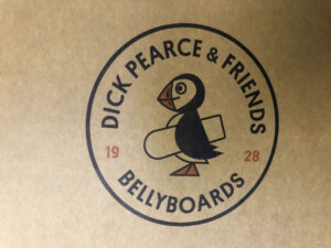 Dick Pearce Custom Shipping Box With Two Colour Logo